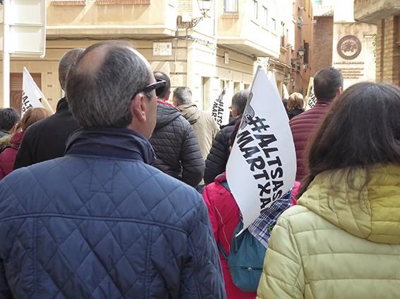 Iruñeko manifestazioaren zain  - 16