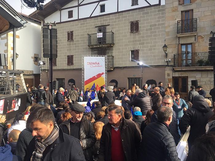 España Ciudadanaren ekitaldiak utzi zuena - 2