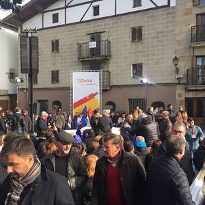 España Ciudadanaren ekitaldiak utzi zuena