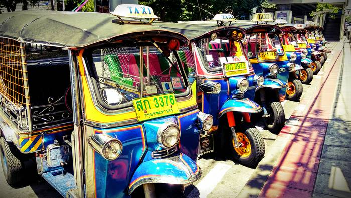 Tuk-Tuk Bangkok!  (Bangkok, Tailandia 2015)