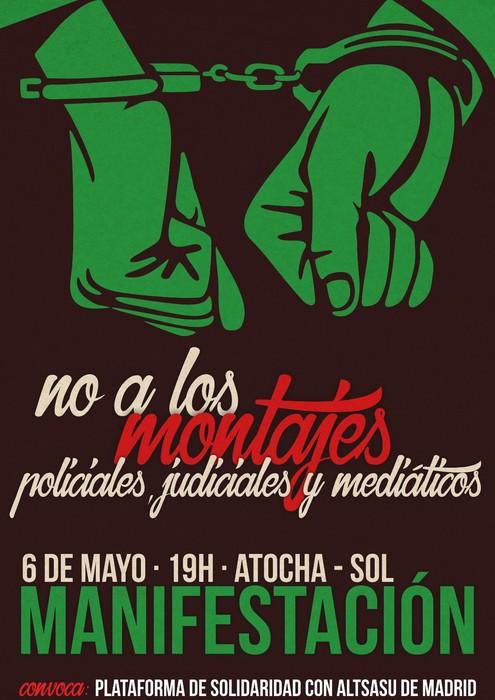 Madrilen protesta deitu dute