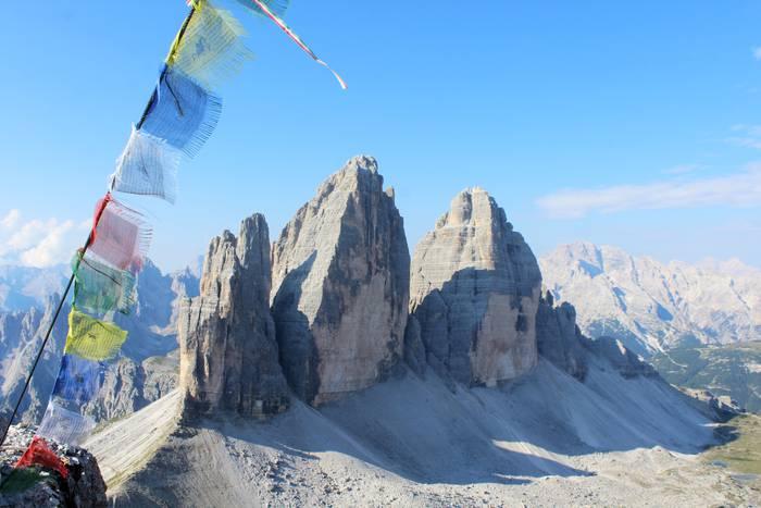 Tre cime di Lavaredo, Dolomitak