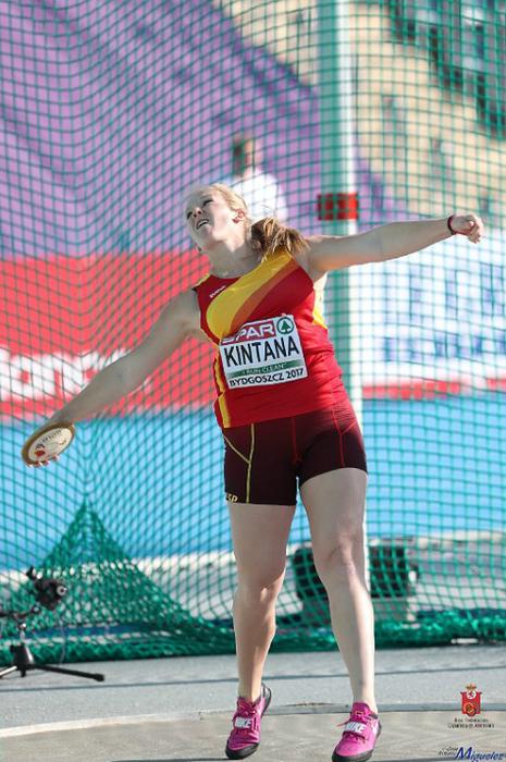 Beste errekor bat June Kintanarendako: 56,30 m