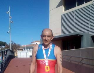 Juan Luis Maiza, Europako Duatloi txapeldunordea bere mailan