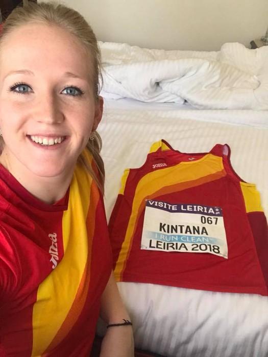 June Kintana, Espainiako atleta onenaren hautagaitzan