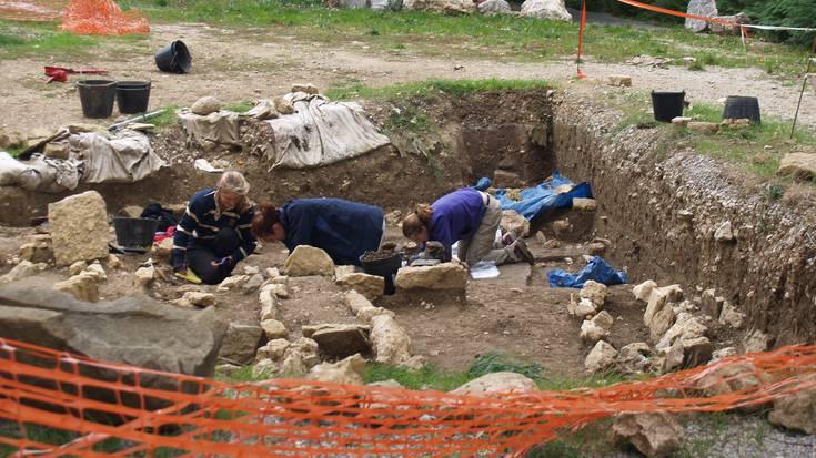 Zamartzeko arkeologia indusketa