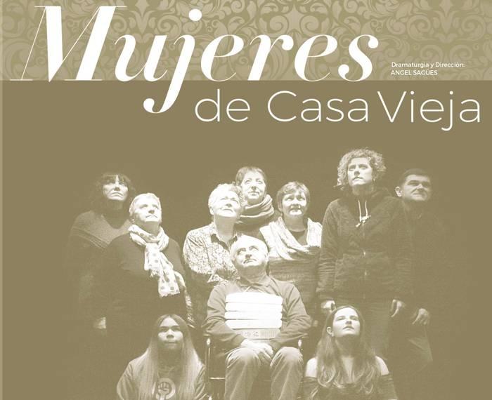 Irurtzungo antzerki tailerraren Mujeres de casa vieja antzezlanaren emanaldia