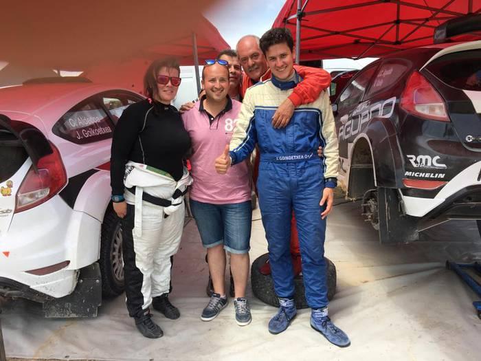 Javier Goikoetxea eta Carlos Aldekoa txapeldun Villahozeko Rallysprintean