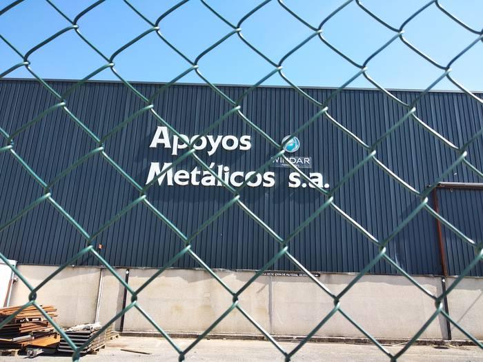 Apoyos Metalicoseko langileak zuzendaritzarekin gaur bilduko dira