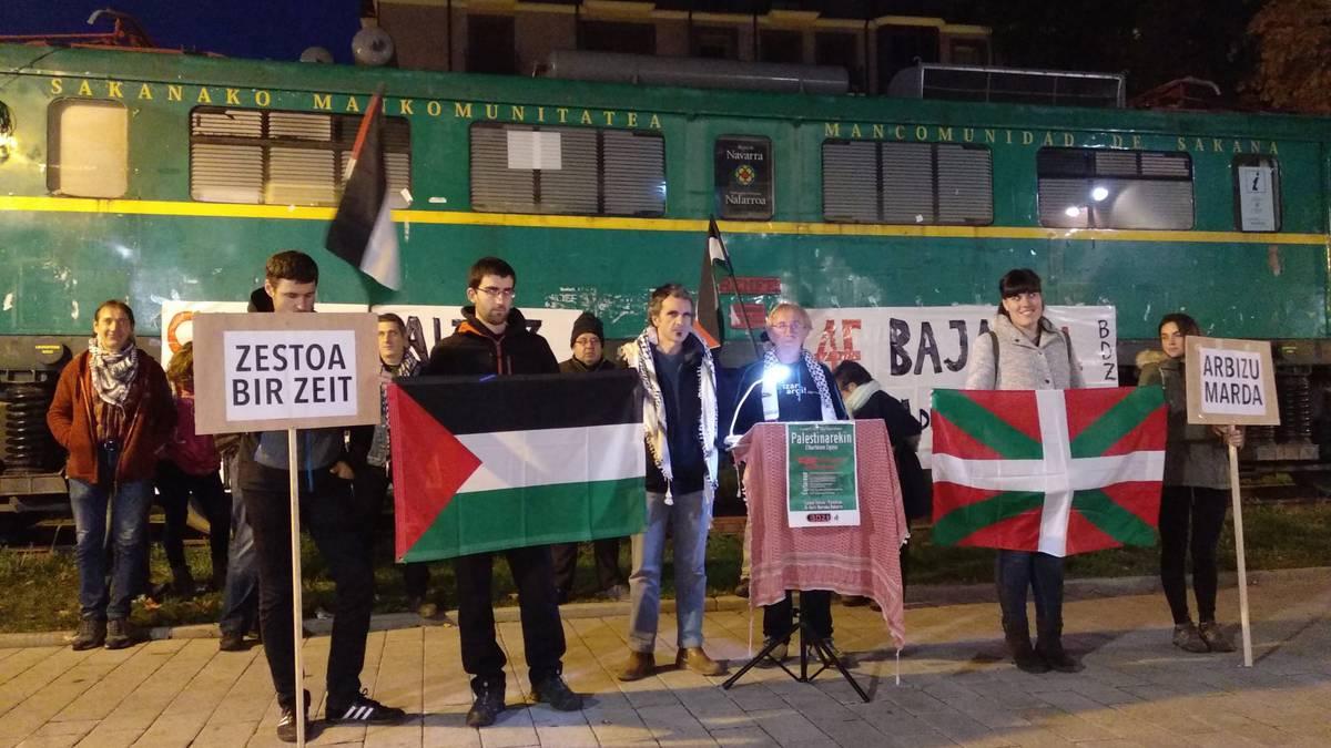 Palestinarendako lurra, justizia eta askatasuna