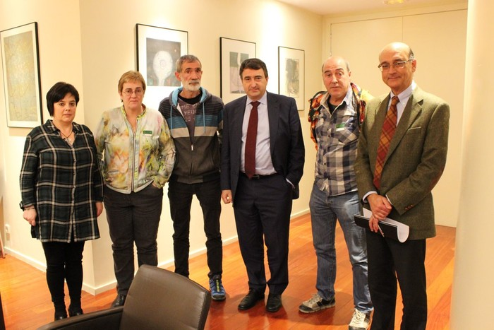 Kezkarekin Espainiako Kongresuraino