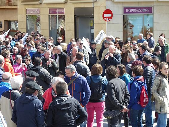 Iruñeko manifestazioaren zain  - 18