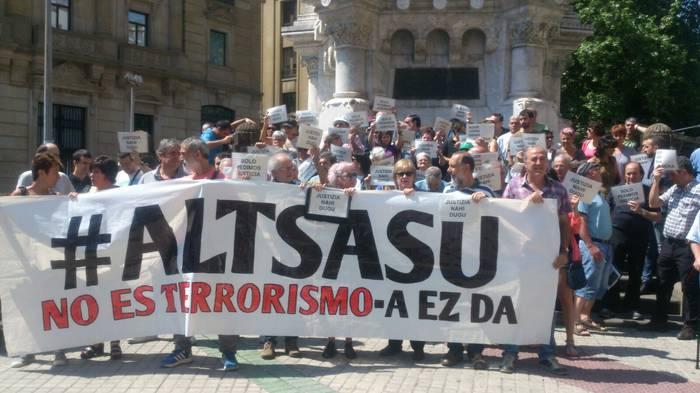 Altsasuarrak Espainiako Auzitegi Nazionalak epaituko ditu