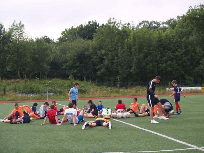 Sakanako Futbol Campusa: bigarren txanda lanean - 2