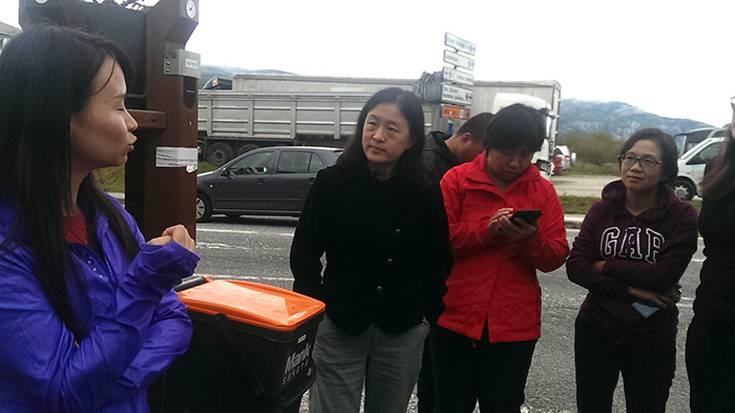 Txinatarrak hondakin bilketan interesa