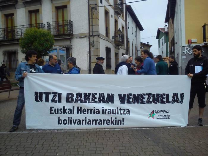Boliviar prozesua babesteko deia