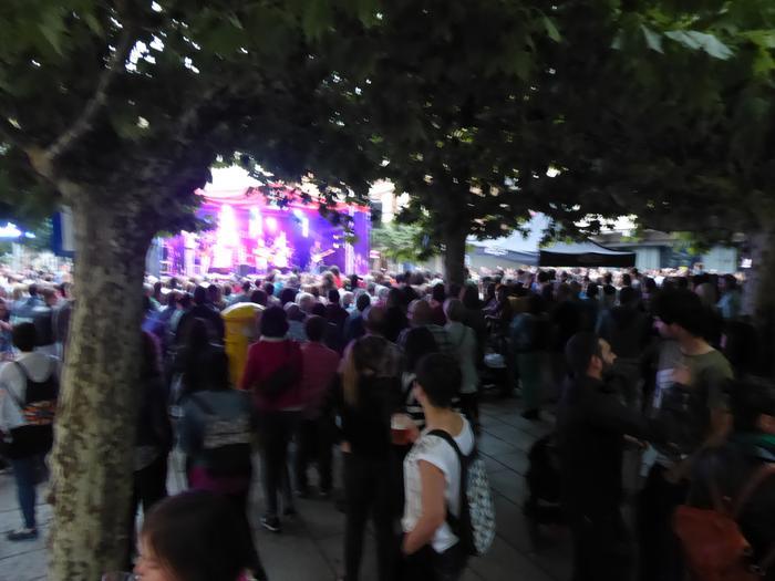 Gozategi taldea Etxarri Aranazko plazan - 6