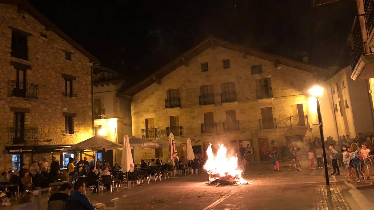 Sarasate plazan San Joan suak
