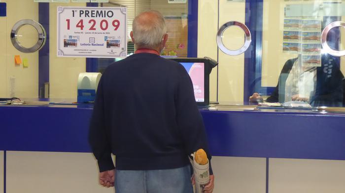 Loteriako sari nagusia Altsasun saldua