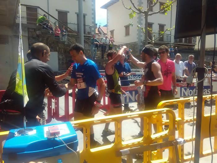 Aritz Ganboa 15.a eta Unzurrunzaga 16.a Camille Extremen