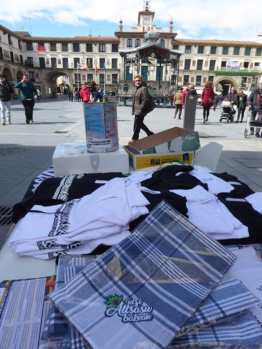 Iruñeko manifestazioaren zain  - 13