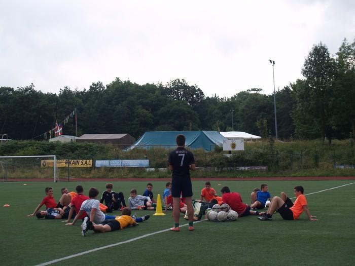 Sakanako Futbol Campusa: bigarren txanda lanean - 3