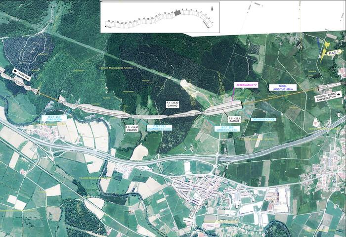 Iruñea eta Gasteiz arteko AHT ibilbide proiektua jendaurrean  - 7