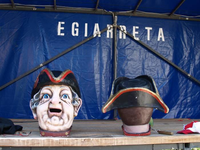 Gaur hasiko dira Egiarretako festak