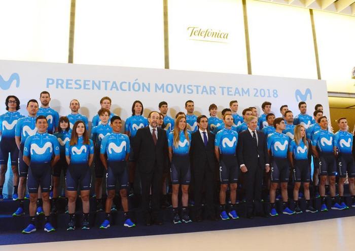 Movistar Team taldearen aurkezpena