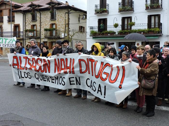 Altsasuko manifestazioa kalez kale - 17