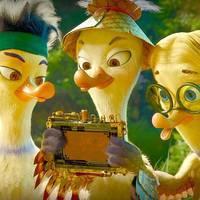Quackers. La leyenda de los patos familiarteko filmaren emanaldian