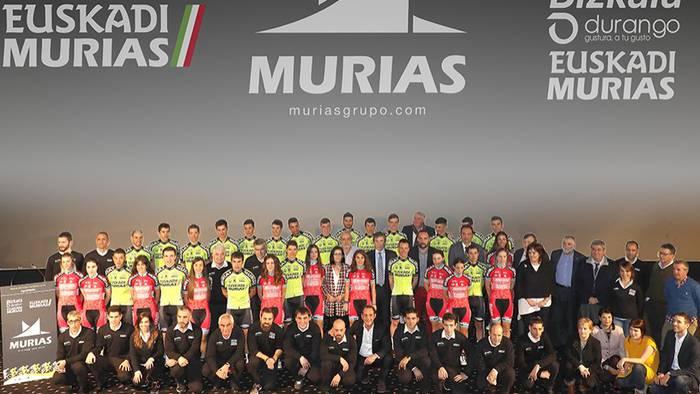 Euskadi-Muriasek 2019ko taldearen aurkezpena egin du