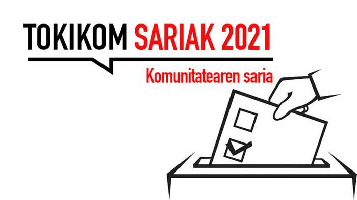 TOKIKOM Sariak 2021- Komunitatearen Saria