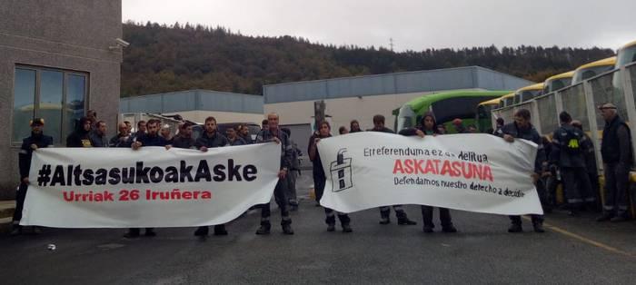 Donostiako manifestaziora joateko deia egin dute sindikatuek