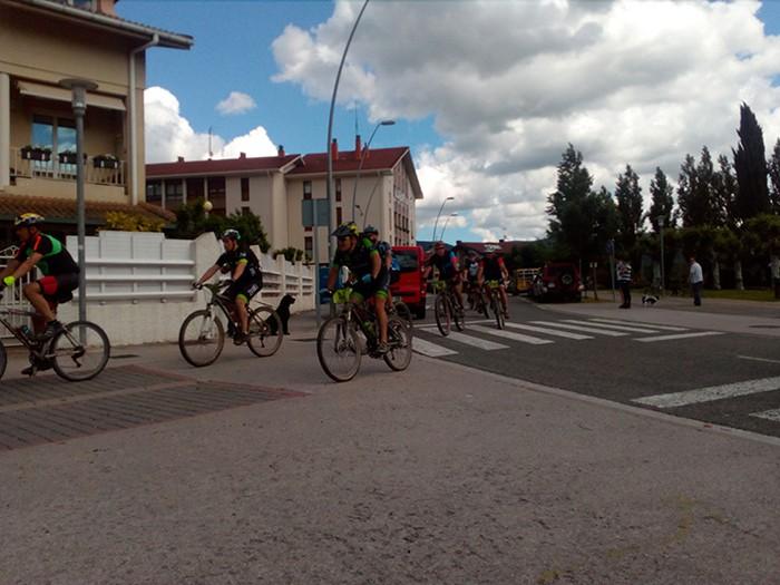 507 biker Altsasu BTT Zeharkaldian