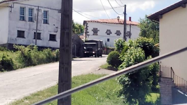 Militarrak Beriain aldean