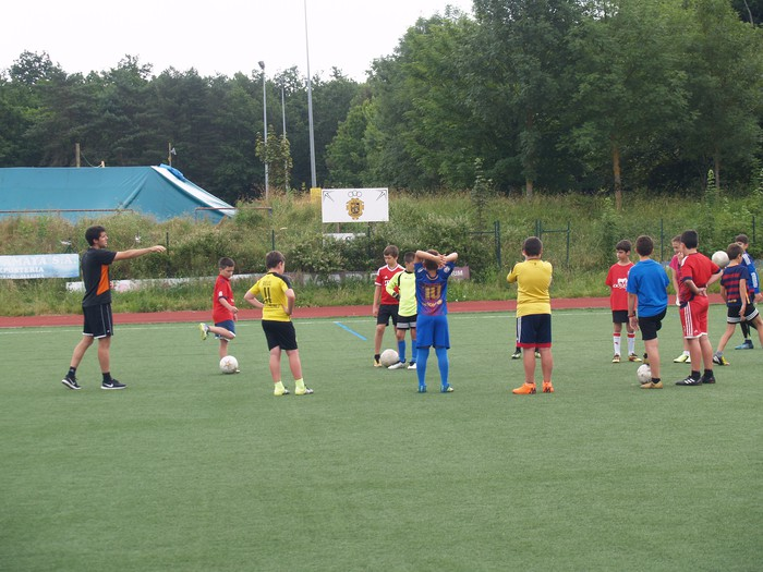 Sakanako Futbol Topaketak: kimuen txanda, Olaztin