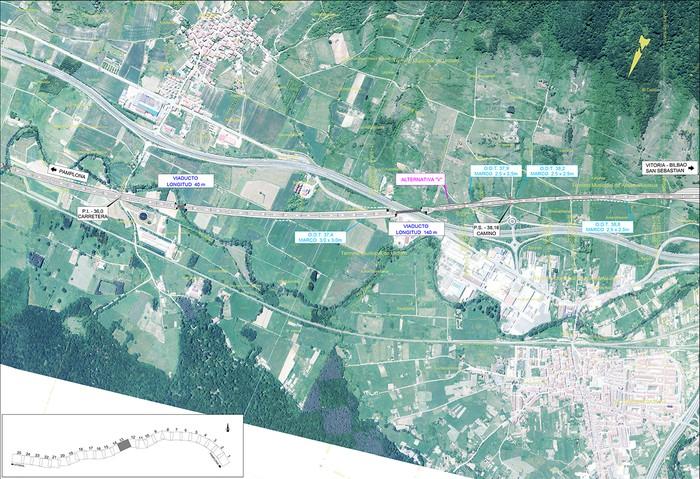 Iruñea eta Gasteiz arteko AHT ibilbide proiektua jendaurrean  - 11