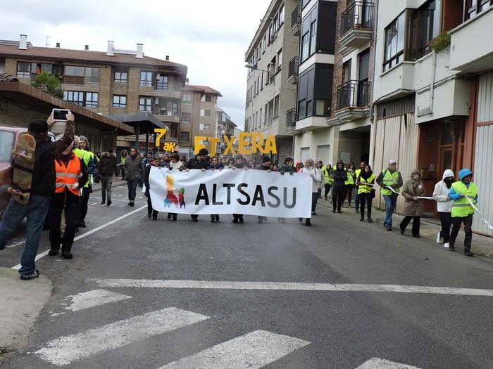 Altsasuko manifestazioa kalez kale - 19