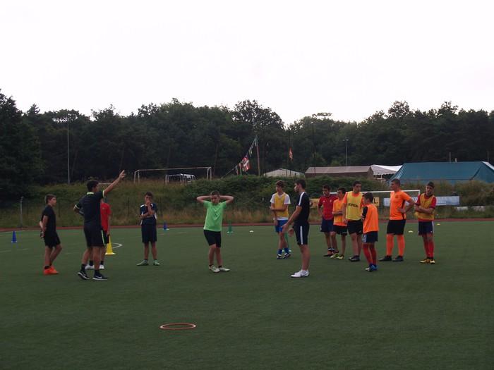 Sakanako Futbol Campusa: bigarren txanda lanean - 10