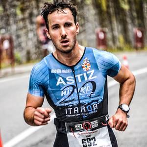 Garcia de Eulate ongi Iruñea Half Triathlonen