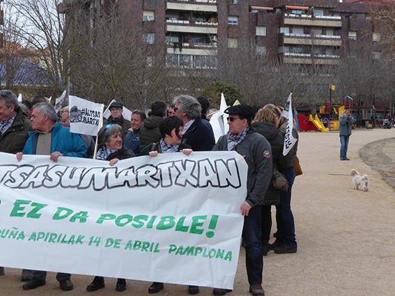 Iruñeko manifestazioaren zain  - 14