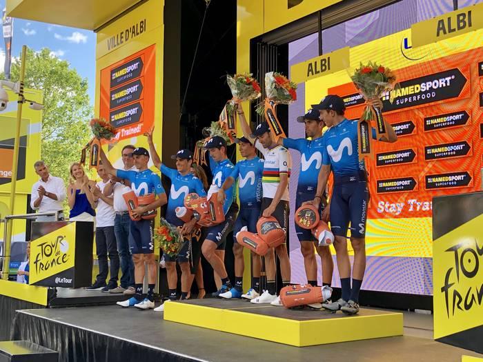 Egun beltza Erbitiren eta Arrietaren Movistar Team-endako