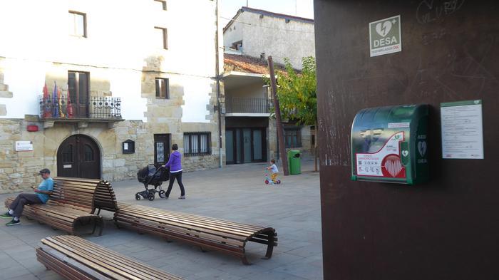Desfibriladorea, plaza erdian